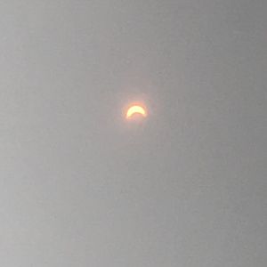Eclipse photos with my iPhone